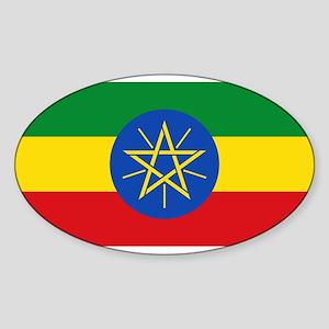 Ethiopia Flag Sticker
