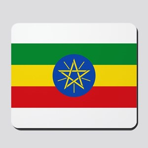 Ethiopia Flag Mousepad