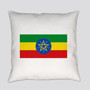 Ethiopia Flag Everyday Pillow