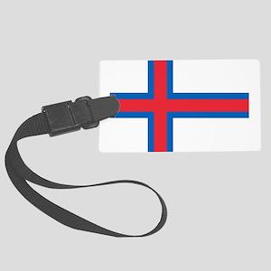 Faroe Islands Flag Luggage Tag
