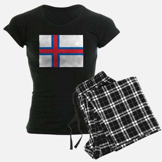 Faroe Islands Flag Pajamas