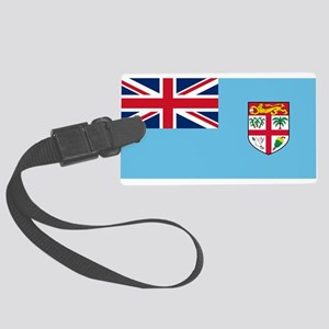 Fiji Flag Luggage Tag