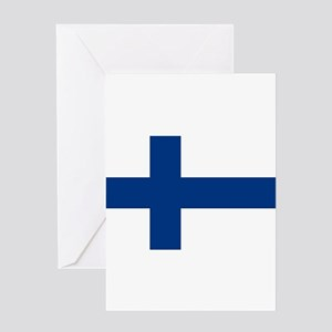 Finland Flag Greeting Cards