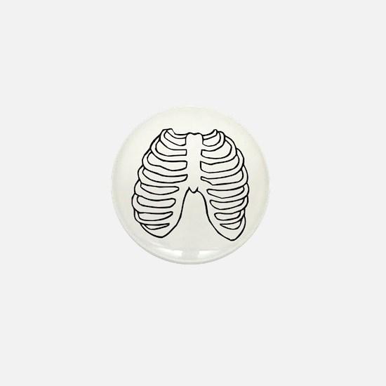 Rib Cage Mini Button (100 pack)