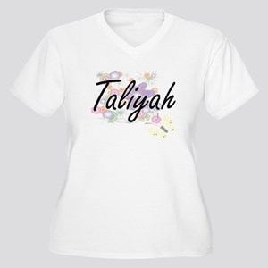 Taliyah Artistic Name Design wit Plus Size T-Shirt