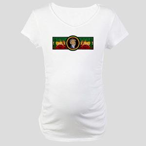 Smile Selassie Maternity T-Shirt