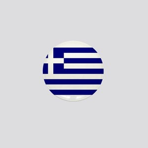 Greece Flag Mini Button