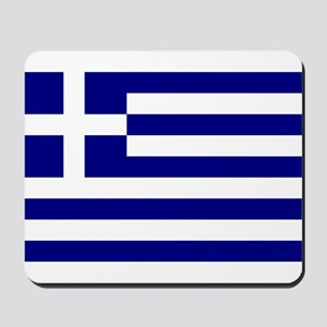 Greece Flag Mousepad