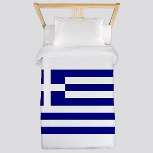 Greece Flag Twin Duvet