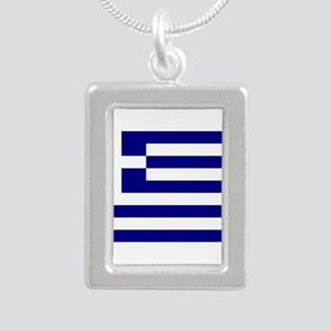 Greece Flag Necklaces
