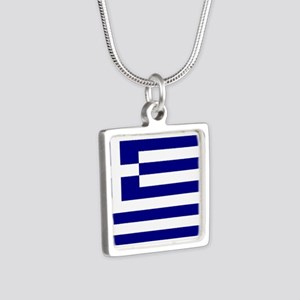 Greece Flag Necklaces