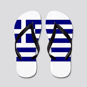 Greece Flag Flip Flops
