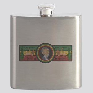 Smile Selassie Flask