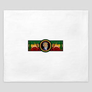 Smile Selassie King Duvet