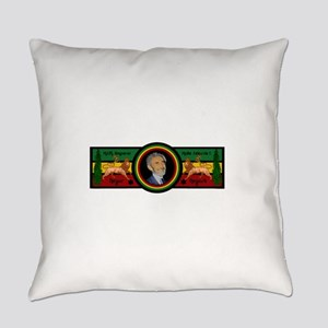 Smile Selassie Everyday Pillow