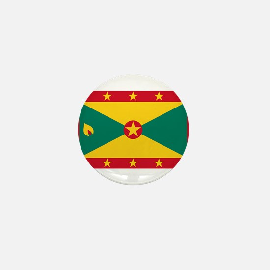 Grenada Flag Mini Button