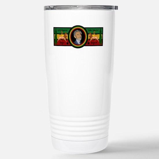 Smile Selassie Stainless Steel Travel Mug