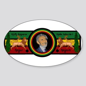 Smile Selassie Sticker