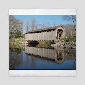 The Covered Bridge Queen Duvet