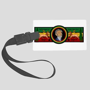 Smile Selassie Large Luggage Tag