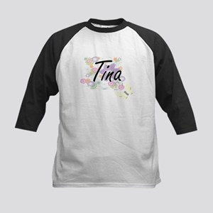 Tina Artistic Name Design with Flo Baseball Jersey