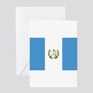 Guatemala Flag Greeting Cards