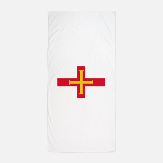 Guernsey Flag Beach Towel