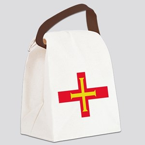 Guernsey Flag Canvas Lunch Bag