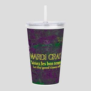 Mardi Gras Good Times Acrylic Double-wall Tumbler