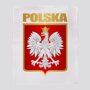Poland COA Throw Blanket
