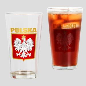 Poland COA Drinking Glass