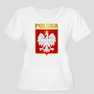 Poland COA Plus Size T-Shirt