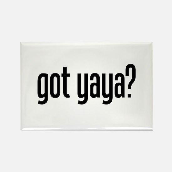 got yaya? Rectangle Magnet