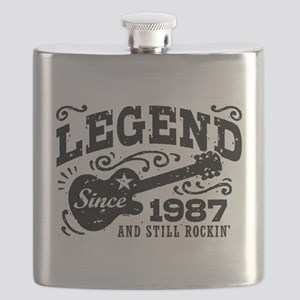 Legend Since 1987 Flask