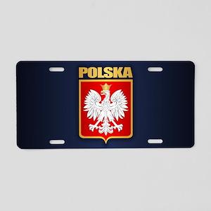 Poland COA Aluminum License Plate