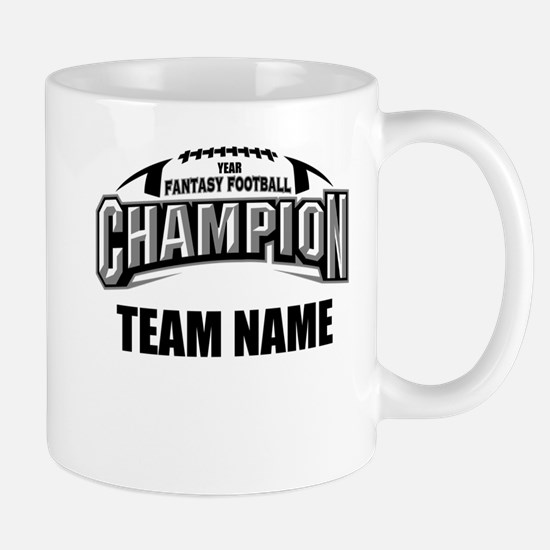 Custom Fantasy Football Champion Mug