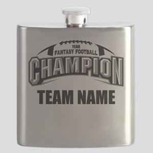 Custom Fantasy Football Champion Flask