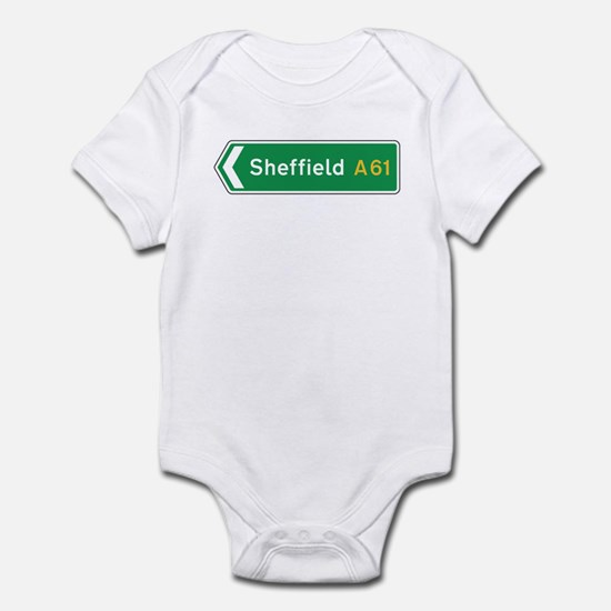 Sheffield Roadmarker, UK Infant Bodysuit
