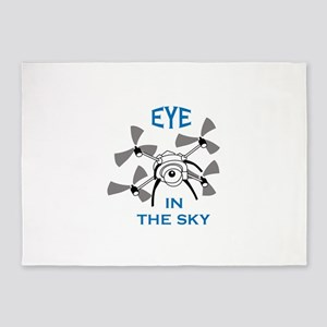 Eye In The Sky 5'x7'Area Rug