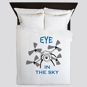 Eye In The Sky Queen Duvet