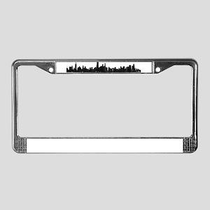 Chicago Skyline 1 License Plate Frame