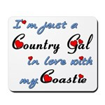Country Gal Coastie Love Mousepad