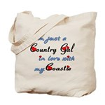 Country Gal Coastie Love Tote Bag