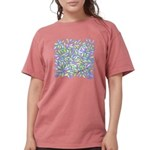 Pastel Leaves (ff) Womens Comfort Colors Shirt