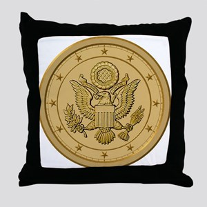 PATRIOT BLUE Throw Pillow