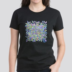 Pastel Leaves (ff) Women's Classic T-Shirt