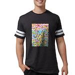 Pastel Leaves 1 Mens Football Shirt