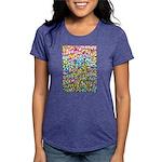 Pastel Leaves 1 Womens Tri-blend T-Shirt