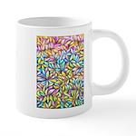 Pastel Leaves 1 20 oz Ceramic Mega Mug