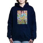 Pastel Leaves 1 Women's Hooded Sweatshirt